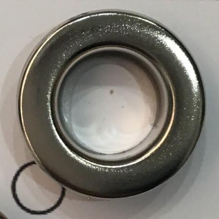 Люверс 11мм №24 нержавейка темный никель (1000 штук)