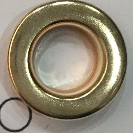 Люверс 11мм №24 нержавейка золото (1000 штук)
