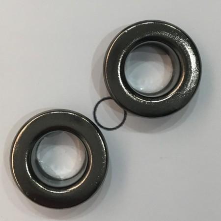 Люверс 9мм №22 нержавейка темный никель (1000 штук)