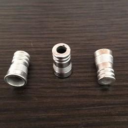 Наконечник для шнура под металл №А21 (3855) никель (1000 штук)