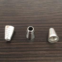Наконечник для шнура под металл №3854 никель (1000 штук)