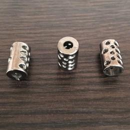 Наконечник для шнура под металл №А56 темный никель (1000 штук)