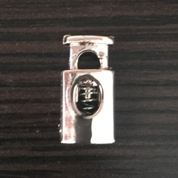 Фиксатор под метал на 1 отверстие 3860 никель (1000 штук)