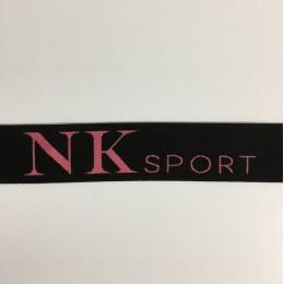 Резинка с логотипом NK Sport 40мм  (метр )