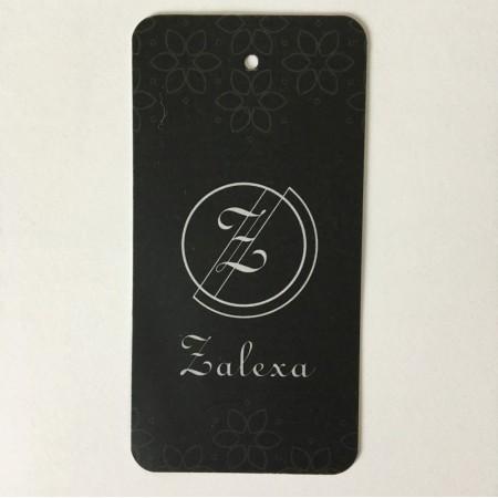 Этикетка картонная 5х10см Zalexa заказная (Штука)