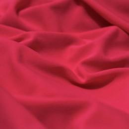 Ткань трикотаж микромасло однотоное малиновый (метр )