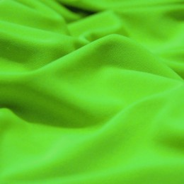 Ткань трикотаж микромасло однотоное салатовый (метр )