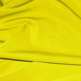 Ткань трикотаж микромасло однотоное желтый (метр )