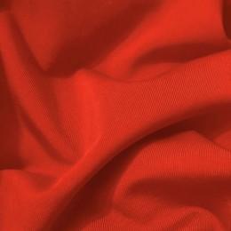 Ткань трикотаж микромасло однотоное алый (метр )