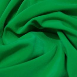 Ткань трикотаж микромасло однотоное зеленый (метр )