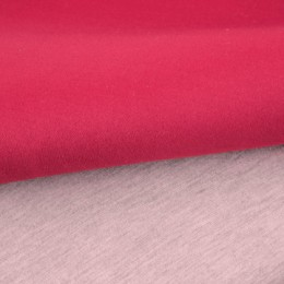 Ткань трикотаж неопрен малиновый меланж (метр )