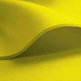 Ткань трикотаж неопрен лимонный (метр )