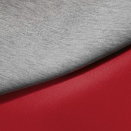 Ткань трикотаж неопрен красный меланж (метр )