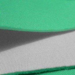 Ткань трикотаж неопрен мята белый (метр )