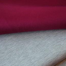 Ткань трикотаж неопрен марсала меланж (метр )