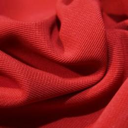 Ткань трикотаж оттоман красный (метр )