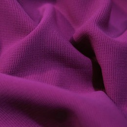 Ткань трикотаж оттоман фиолетовый (метр )