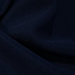 Ткань трикотаж оттоман темно-синий (метр )