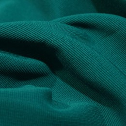 Ткань трикотаж оттоман морская волна (метр )