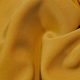 Ткань трикотаж оттоман горчичный (метр )