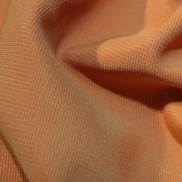 Ткань трикотаж оттоман светло-оранженый (метр )