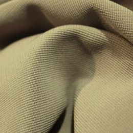 Ткань трикотаж оттоман светло-бежевый (метр )
