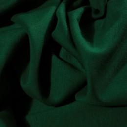 Ткань трикотаж французский темно-зеленый (метр )