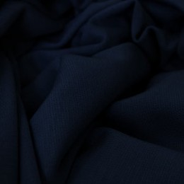 Ткань трикотаж французский темно-синий (метр )