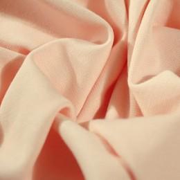 Ткань трикотаж французский персиковый (метр )