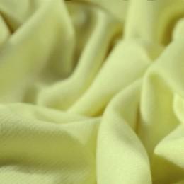 Ткань трикотаж французский бледно желтый (метр )
