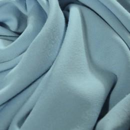 Ткань трикотаж французский голубой (метр )