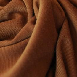 Ткань трикотаж французский коричневый (метр )