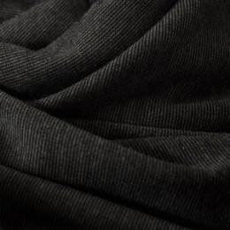 Ткань трикотаж французский темно-серый меланж (метр )