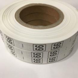 Размерная лента (накатка) 66 (1000 штук)