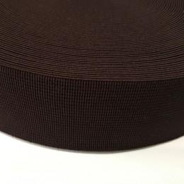 Резинка 50мм для пояса коричневый (25 метров)