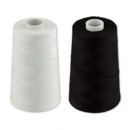 Нитки швейные армированая 20/2 (5000м) черная (Штука)