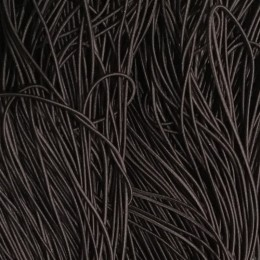 Резинка шнур производство 2,5см коричневый темный (50 метров)