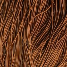 Резинка шнур производство 2,5см рыжий (50 метров)