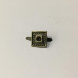 Украшение металлическое крабик квадрат 10х10мм антик (Штука)