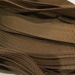Тесьма брючная 15мм светло коричневы (25 метров)