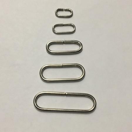 Рамка металлическая овальная 10мм (100 штук)