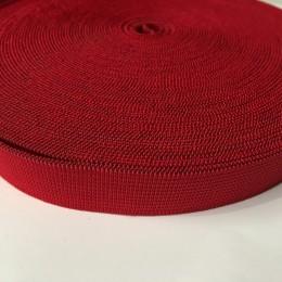 Резинка 20мм красный (25 метров)