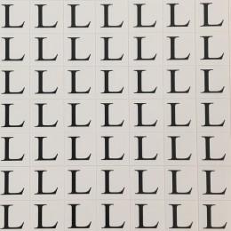 Размеры клеевые (320 на листе) L (лист)
