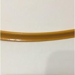Кант пластиковый для сумок (кедер) 6мм желтый подсолнух (100 метров)