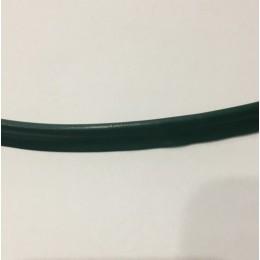 Кант пластиковый для сумок (кедер) 6мм зеленый бутылка (100 метров)