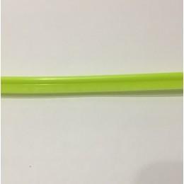 Кант пластиковый для сумок (кедер) 6мм зеленый салат (100 метров)