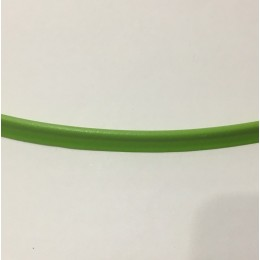 Кант пластиковый для сумок (кедер) 6мм зеленый трава (100 метров)