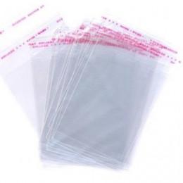 Пакет для одежды с клеевым клапаном 28х42см (100 штук)