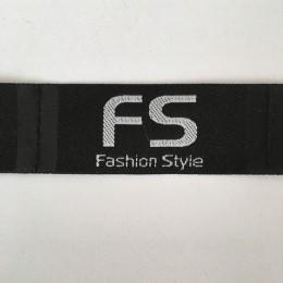 Этикетка жаккардовая вышитая Fashion Style 30мм (100 метров)