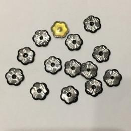 Стразы клеевые (камни) металл 10мм №1 (220 штук)